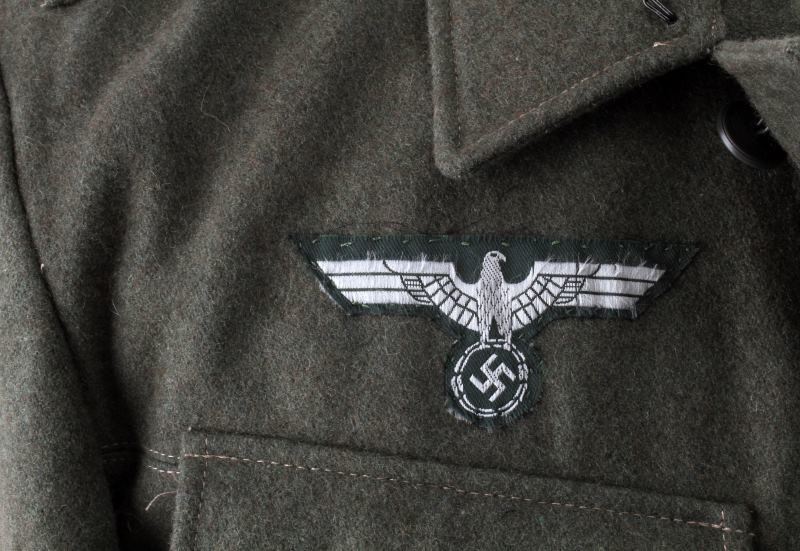 WWII GERMAN 3RD REICH REPRODUCTION ARMY TUNIC - 2