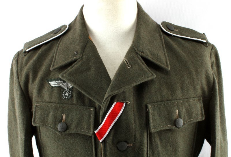 WWII GERMAN 3RD REICH REPRODUCTION ARMY TUNIC - 3