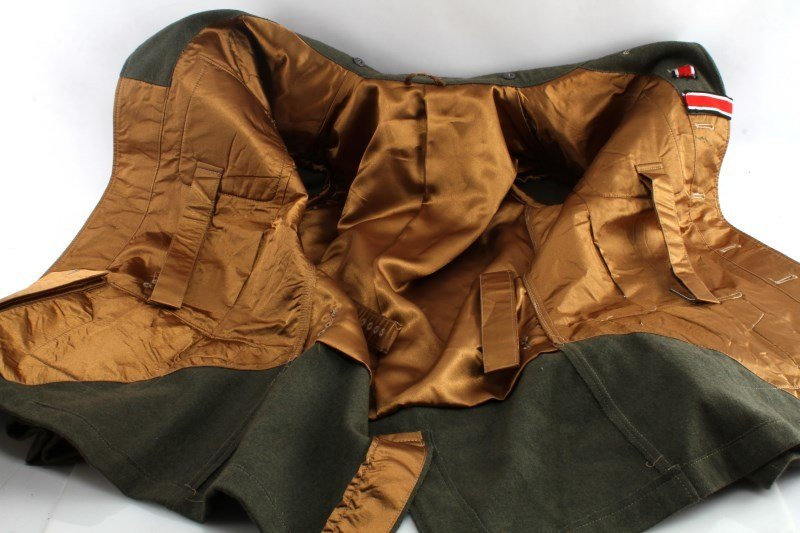 WWII GERMAN 3RD REICH REPRODUCTION ARMY TUNIC - 5