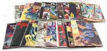 LOT OF 25 MIXED BRONZE AGE COMICS DC MARVEL  MORE