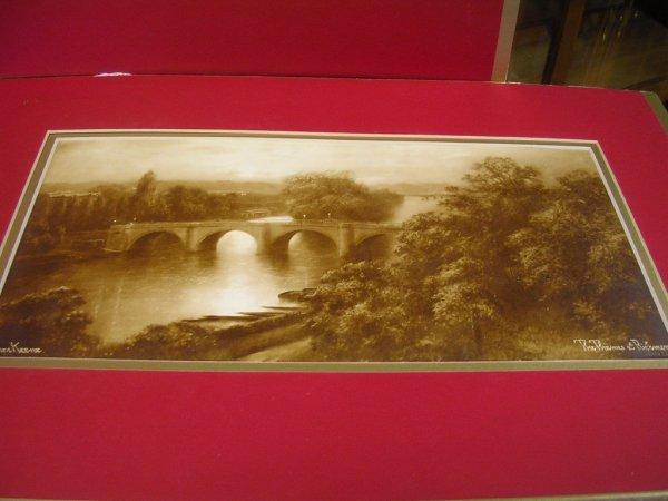 2: FRENCH ENGLISH ANTIQUE ART LOT Elmer Keene 2 early l