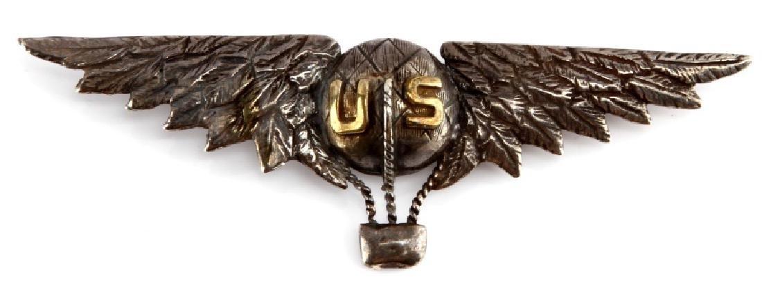 U.S AIR CORPS WWI AERO AVIATOR BALLOON PILOTS WING