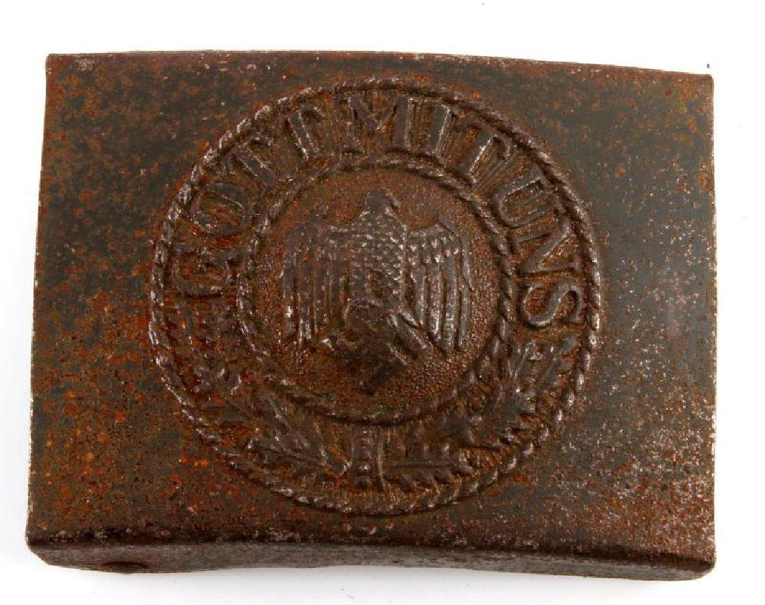 WWII GERMAN ARMY ENLISTED MANS BELT BUCKLE