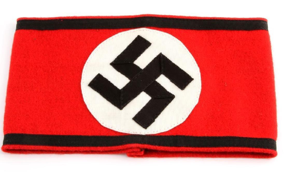 WWII GERMAN WAFFEN SS SCHULTZSTAFFEL  ARMBAND