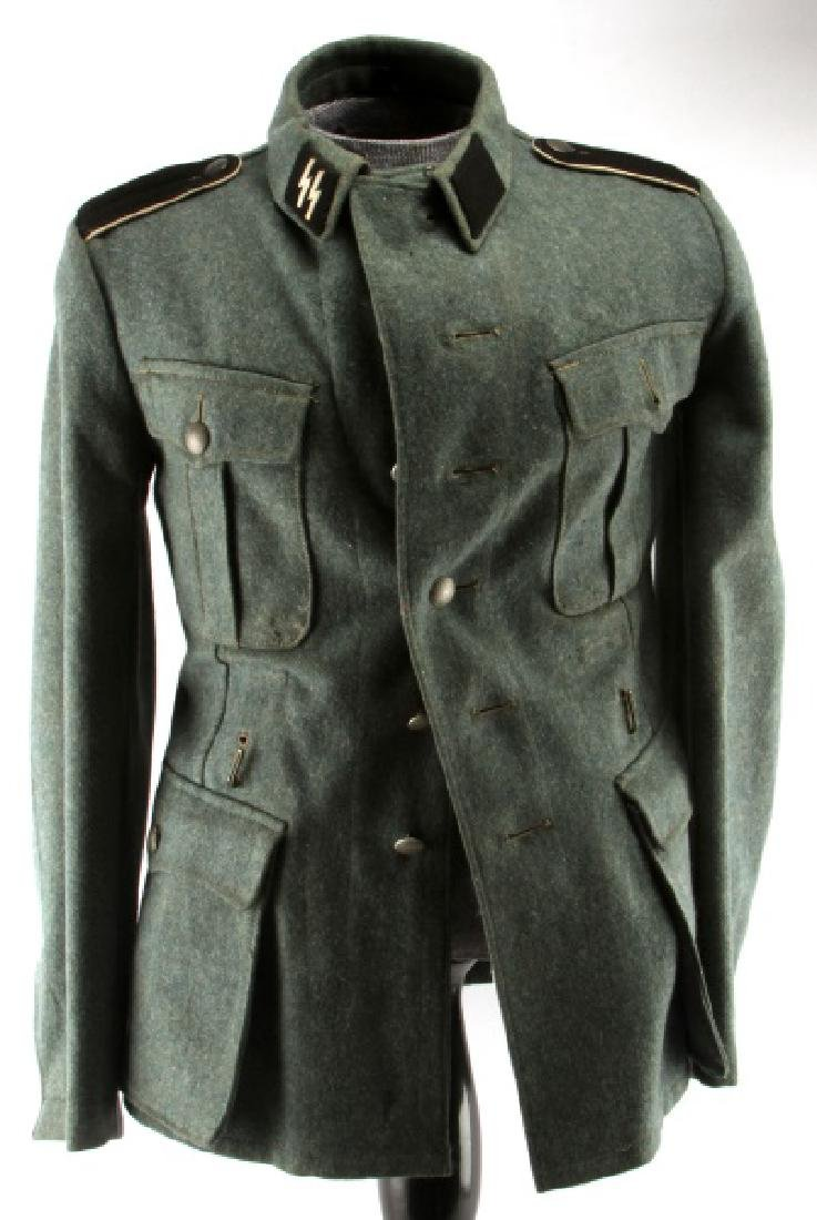 WWII WAFFEN SS 1943 PRIVATE ENLISTED MANS TUNIC