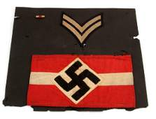 WWII GERMAN 3RD REICH HITLER YOUTH ARM BAND