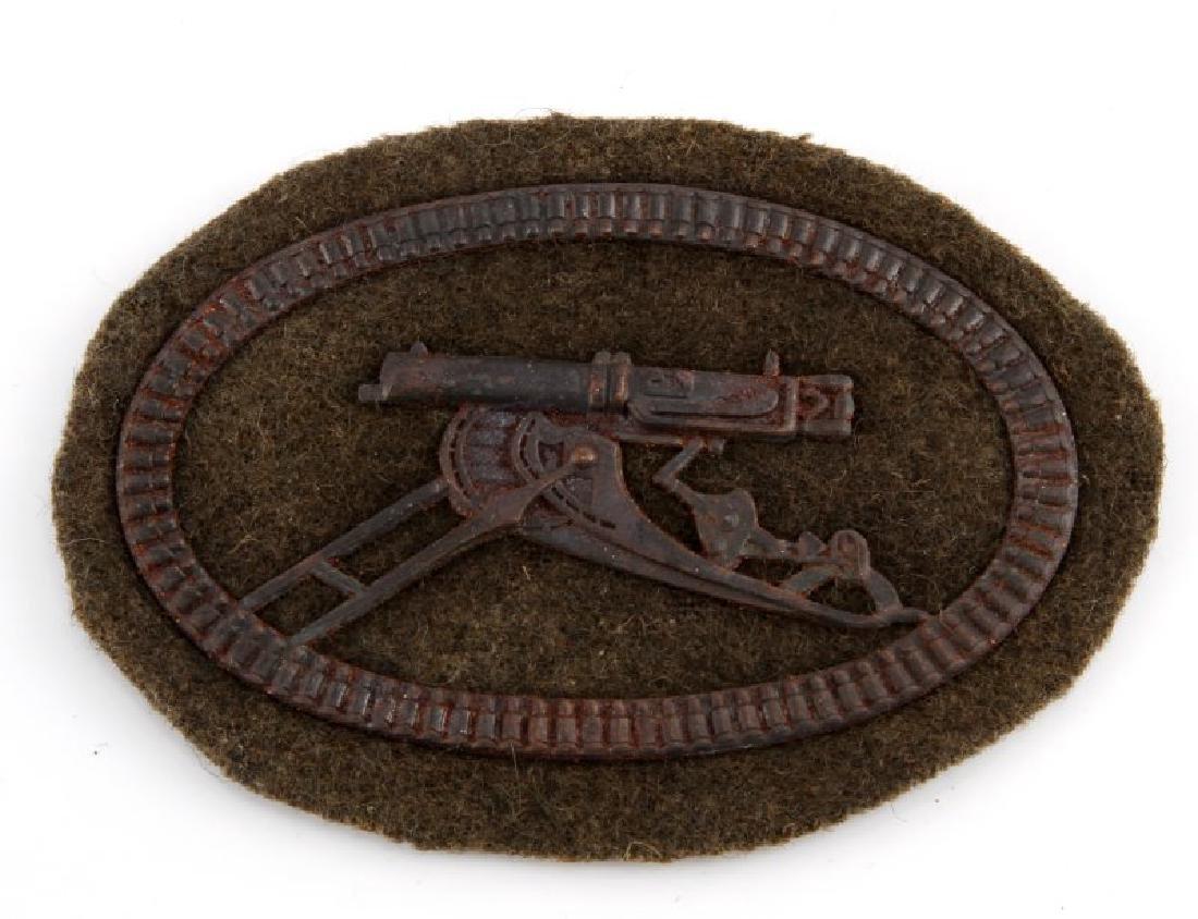 IMPERIAL GERMAN WWI ARMY MACHINE GUNNER  BADGE