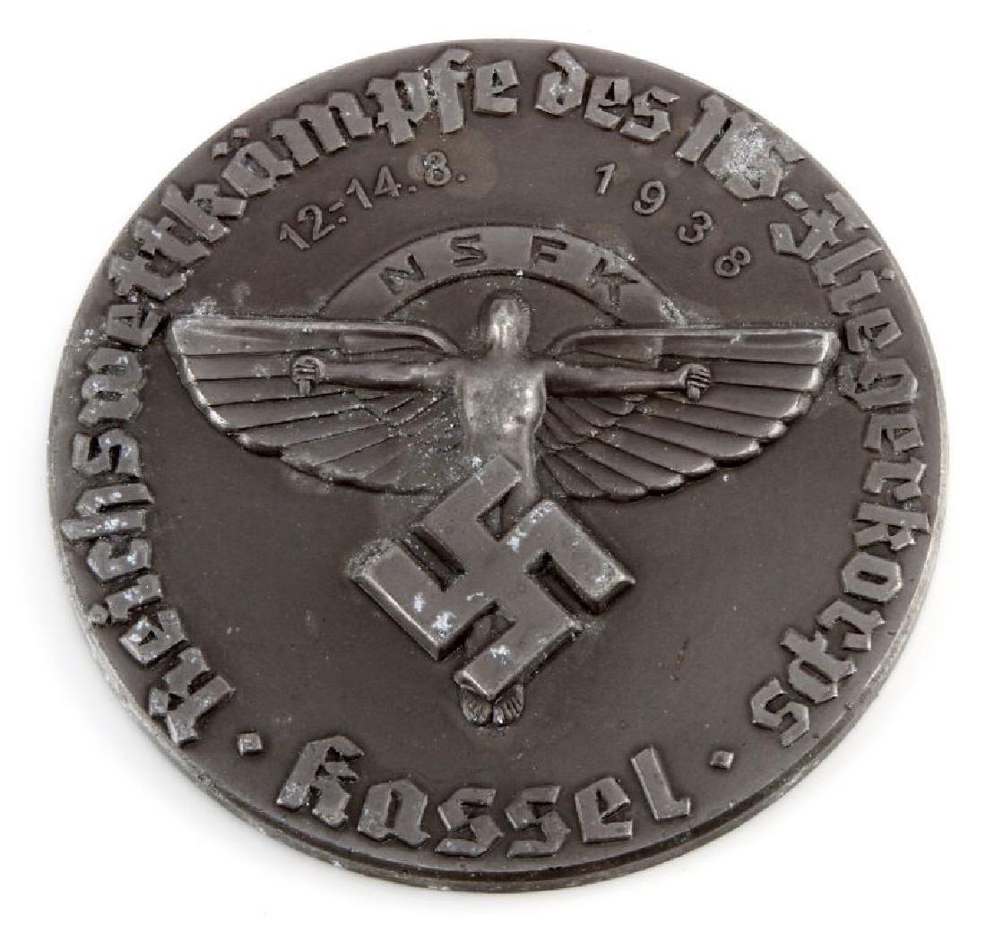WWII GERMAN NSFK GLIDER KORPS KASSEL TABLE AWARD