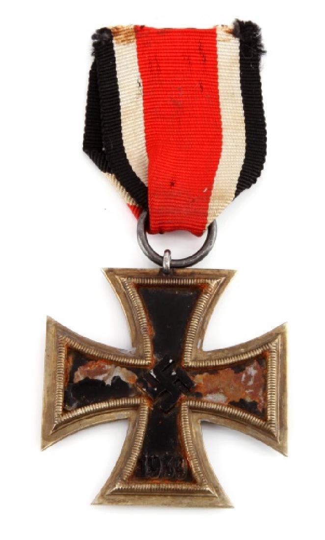 WWII GERMAN 3RD REICH 2ND CLASS IRON CROSS