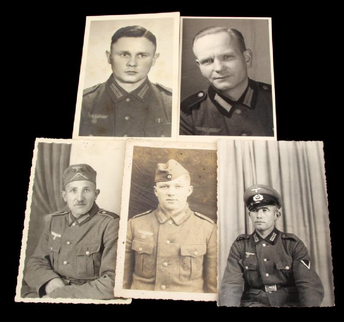 WWII GERMAN ARMY COMBAT SOLDIER PHOTO POST CARDS