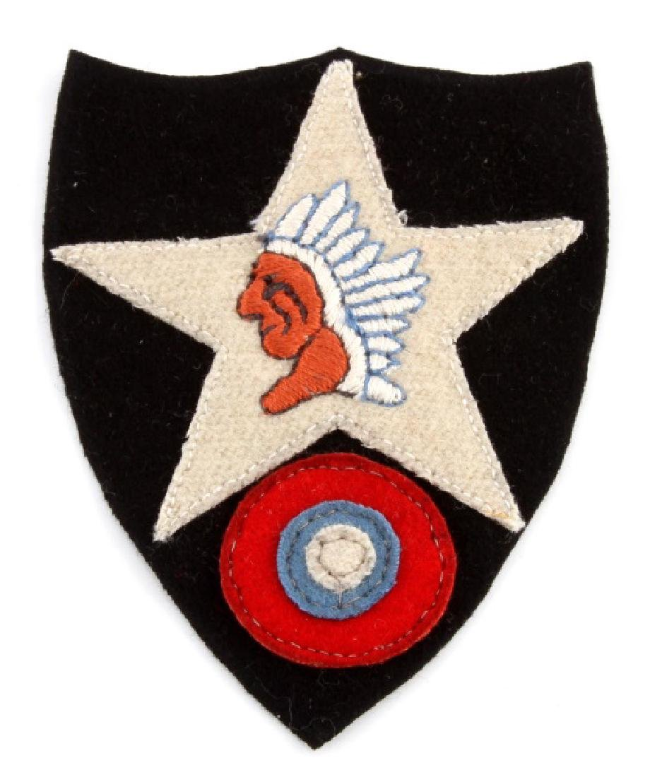 WWI US ARMY 2ND DIVISION AERO SHOULDER PATCH