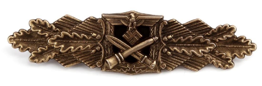 WWII GERMAN ARMY CLOSE COMBAT CLASP IN BRONZE