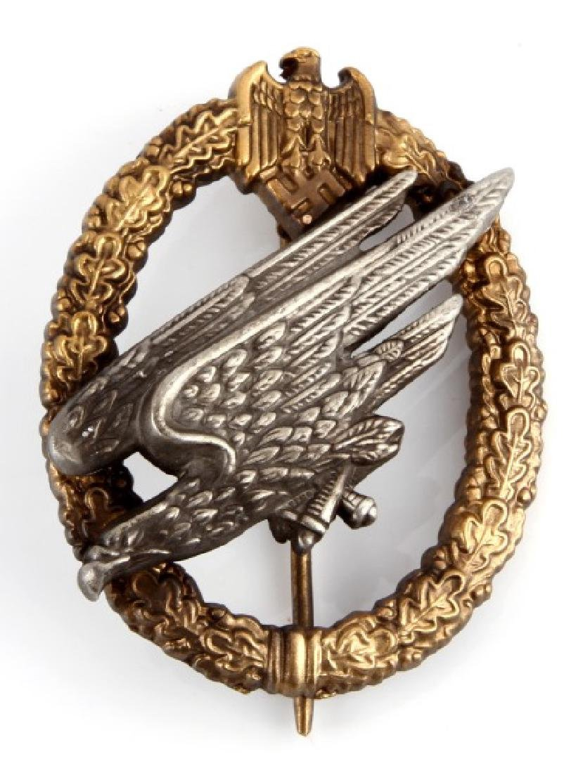 WWII GERMAN FALLSHIRMJAGER PARATROOPER BADGE