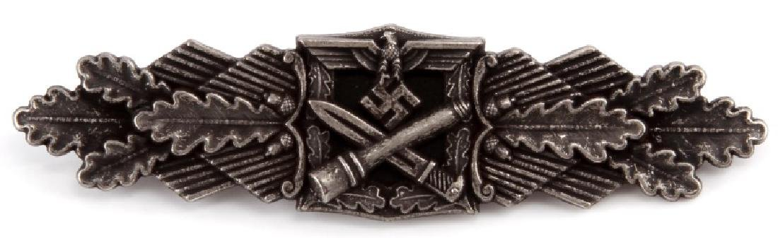 WWII GERMAN 3RD REICH SILVER CLOSE COMBAT CLASP