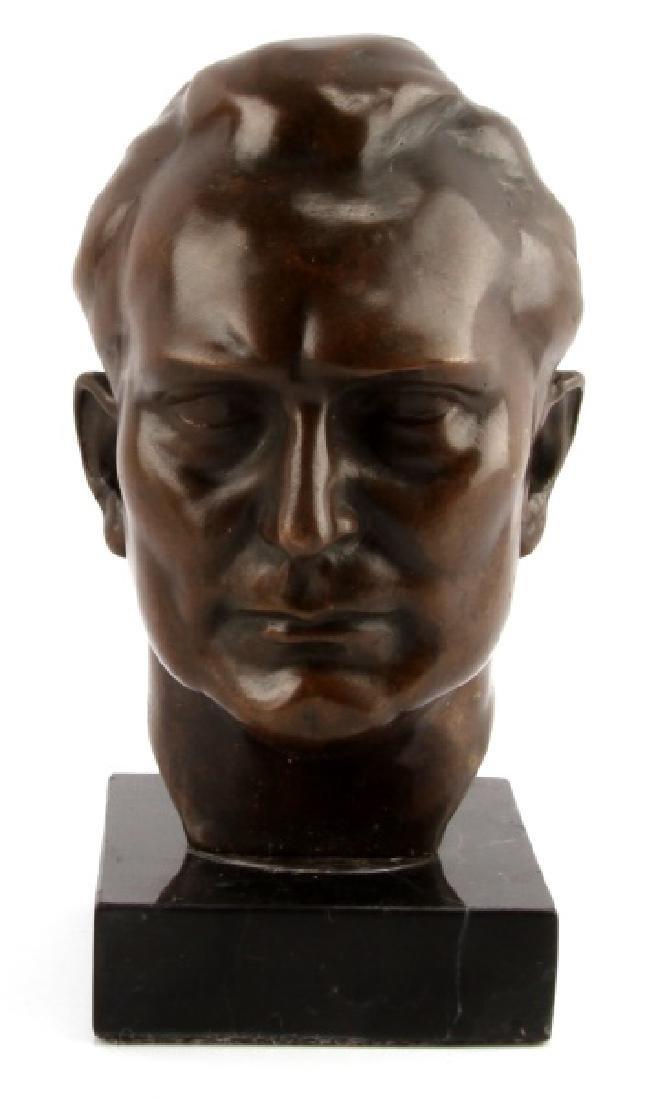WWII GERMAN REICHMARSHALL H. GORING BRONZE BUST