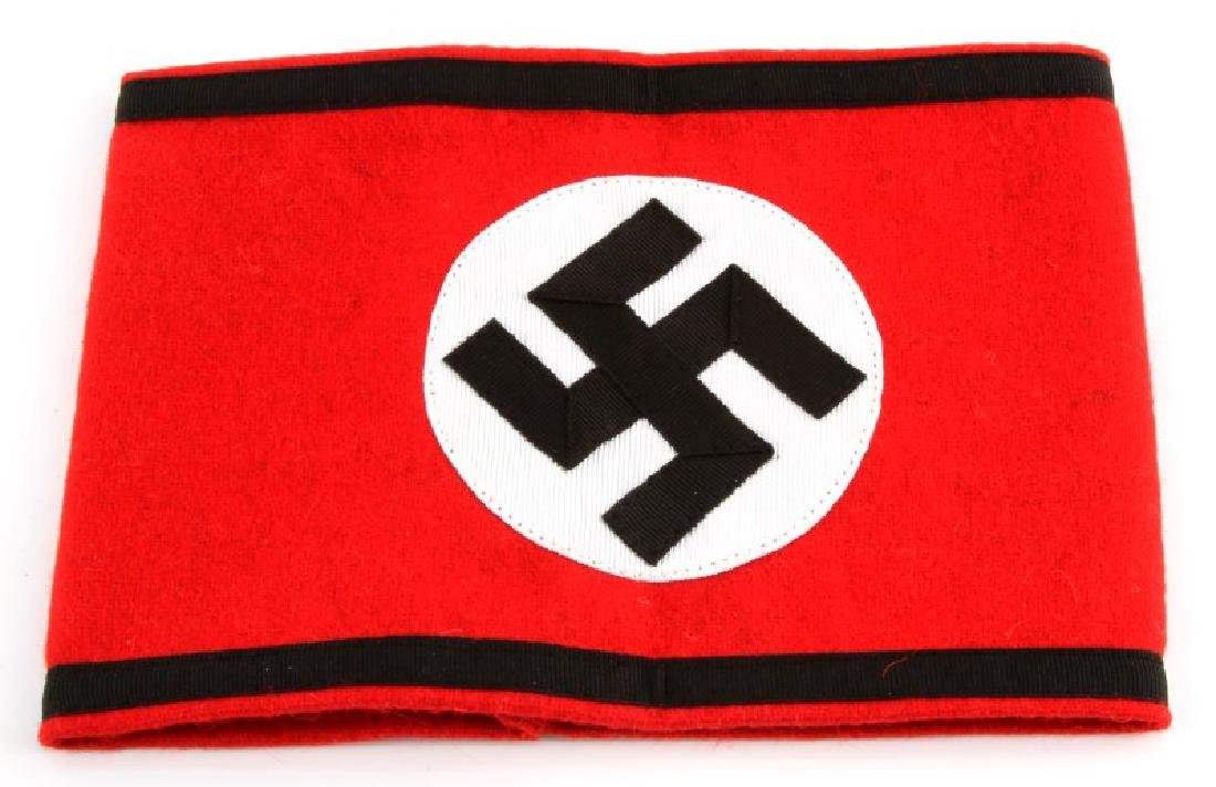 WWII GERMAN 3RD REICH WAFFEN SS OVERCOAT ARM BAND