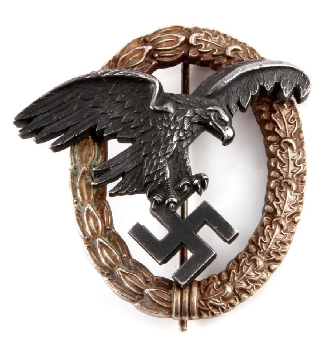 WWII GERMAN 3RD REICH LUFTWAFFE OBSERVER BADGE