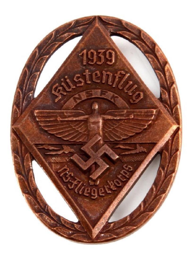WWII GERMAN NSFK GLIDER KORPS KUSTENFLUG BADGE