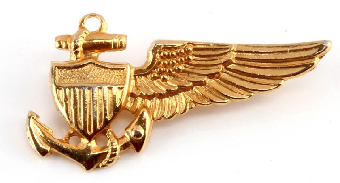 WWII US NAVY BALLOON PILOT WING BADGE