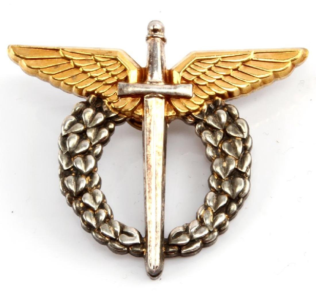 WWII CHECHOSLOVAKIAN AXIS PILOT WING BADGE