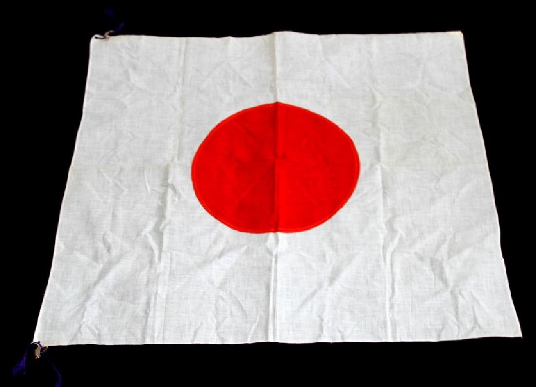 WWII JAPANESE MILITARY MEAT BALL FLAG