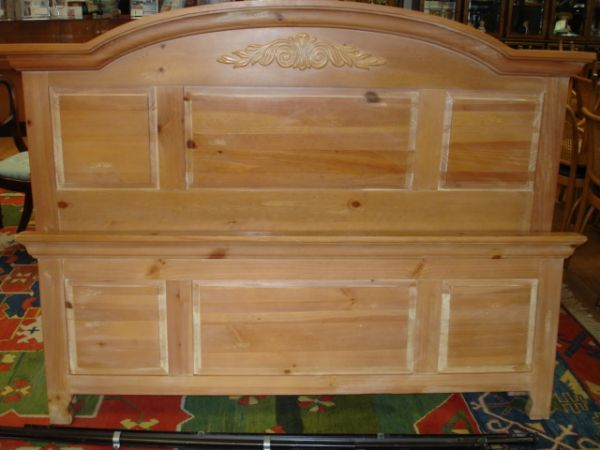 303 Broyhill Fontana Queen Bed Headboard Footboard Aug 12 2006 Affiliated Auctions In Fl