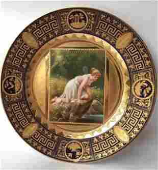 Royal Vienna Portrait Plate