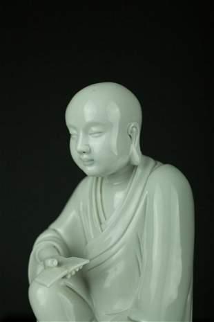 Vintage Chinese Blan de Chine Figure Christie's