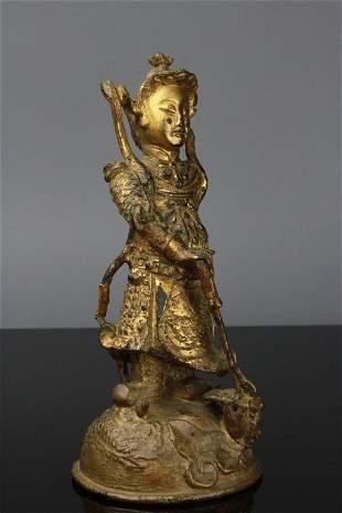Antique Chinese Bronze Figure