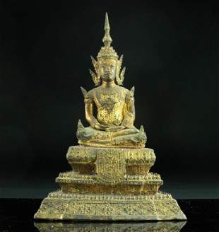 Antique South East Asian Buddha Statue