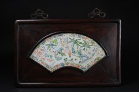 Antique Chinese Porcelain Plaque