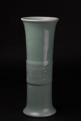 Antique Chinese Celadon Vase