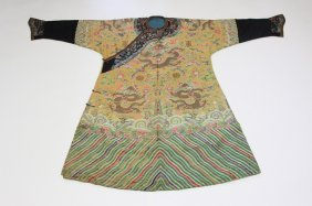 Antique Chinese Emperor Robe