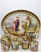 Royal Vienna Porcelain tea set
