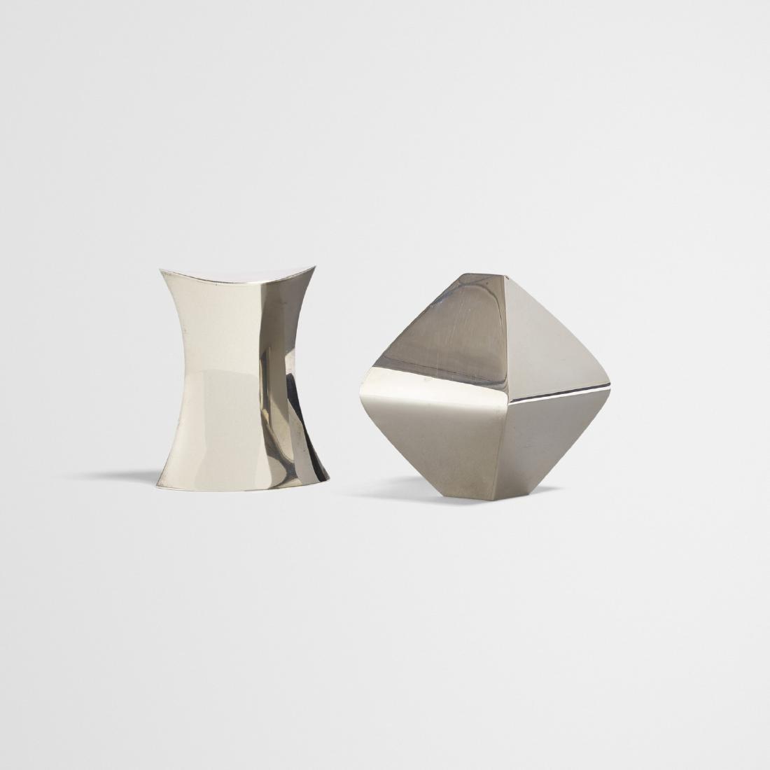 John Prip, prototype Diamond salt and pepper shakers