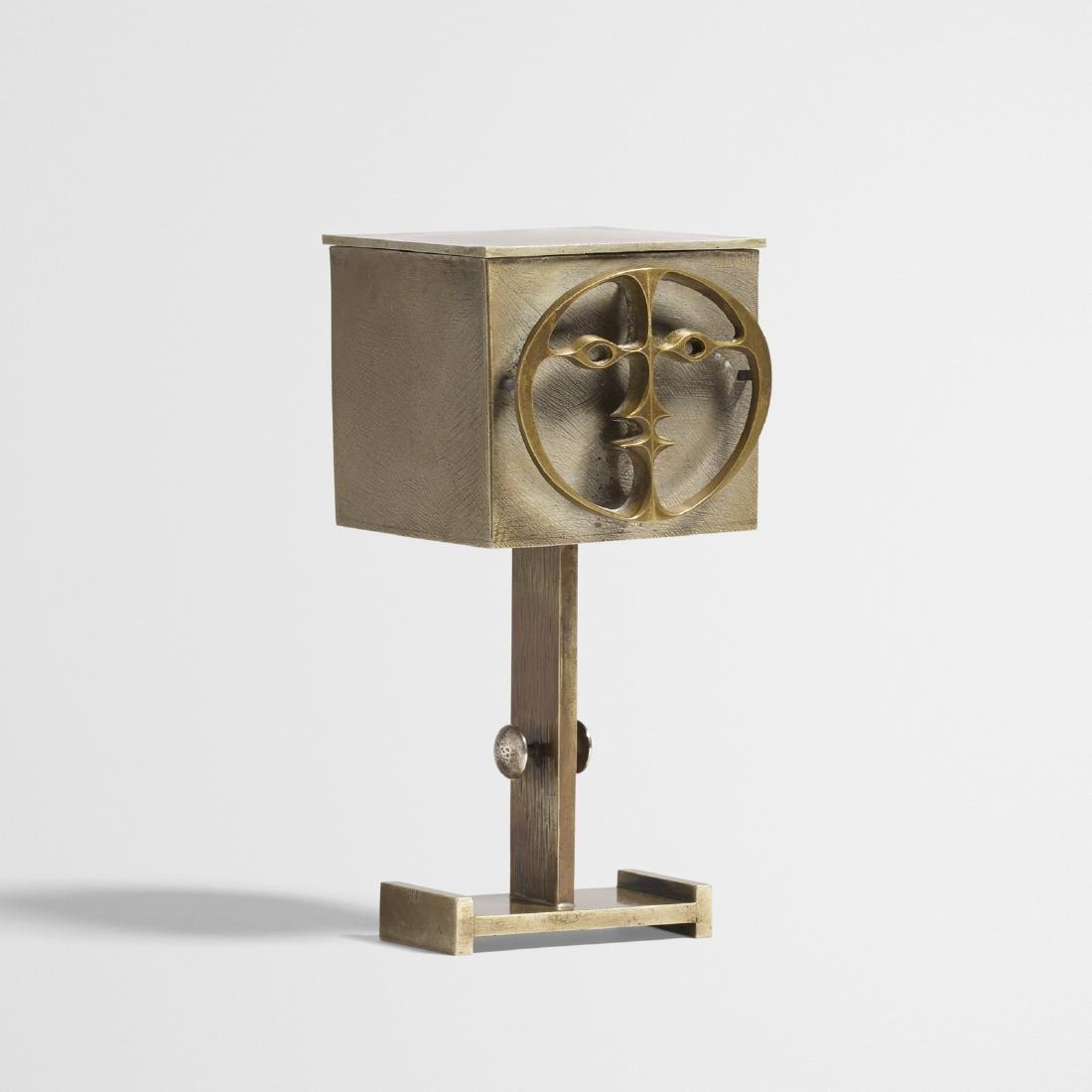 John Prip, standing lidded box