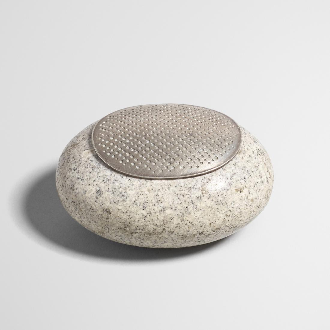 John Prip, River Stone lidded box - 2