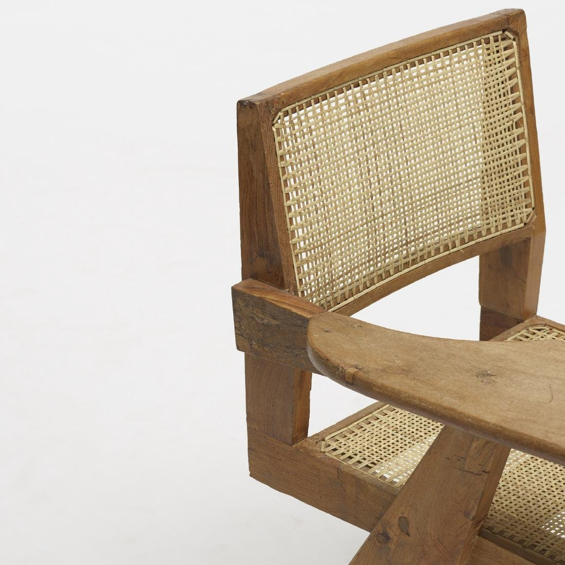 Pierre Jeanneret, writing chair from Chandigarh - 3