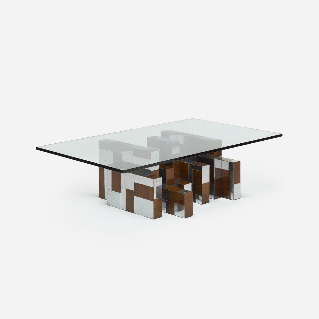 Paul Evans, Cityscape coffee table base, PE 400 series