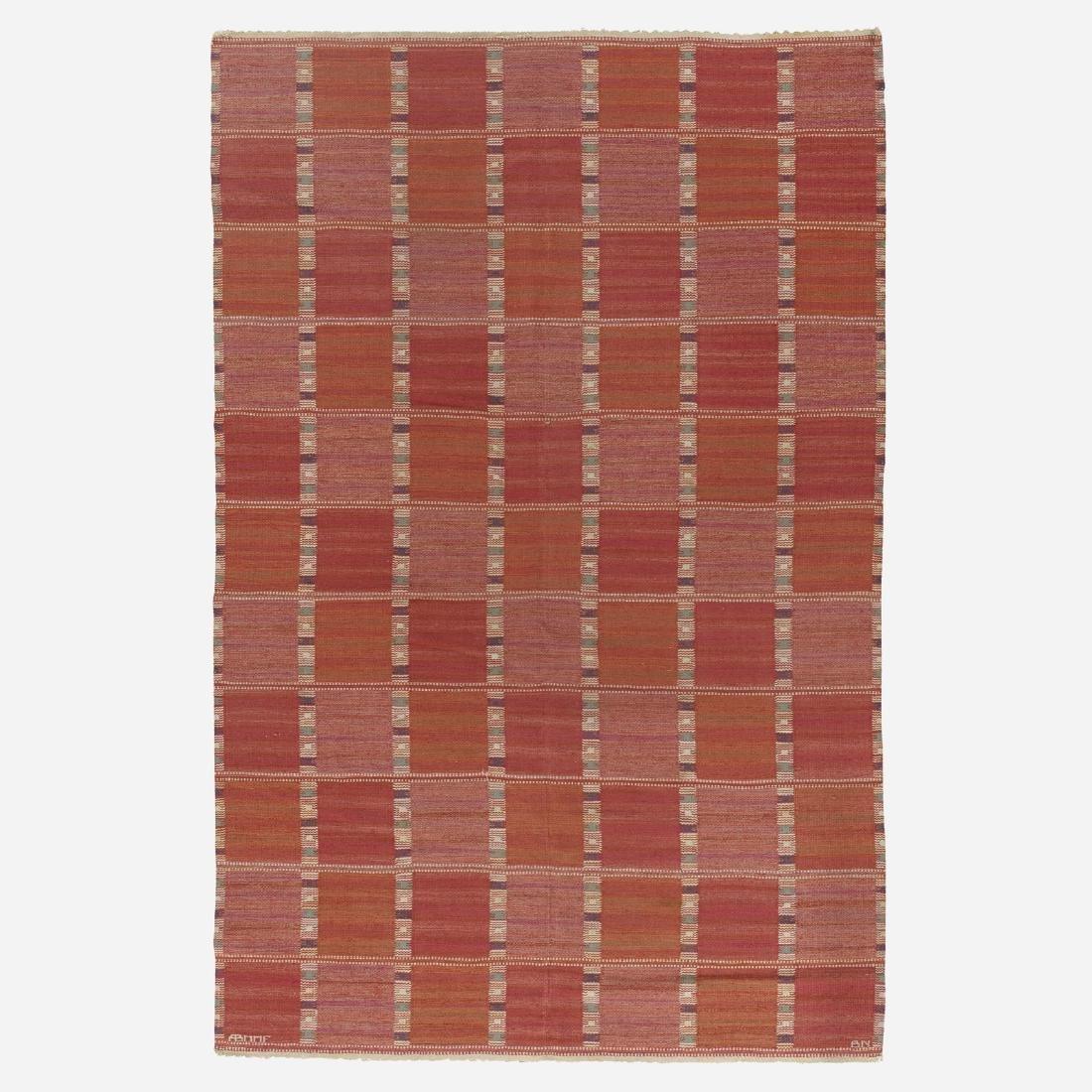 Barbro Nilsson, Falurutan flatweave carpet