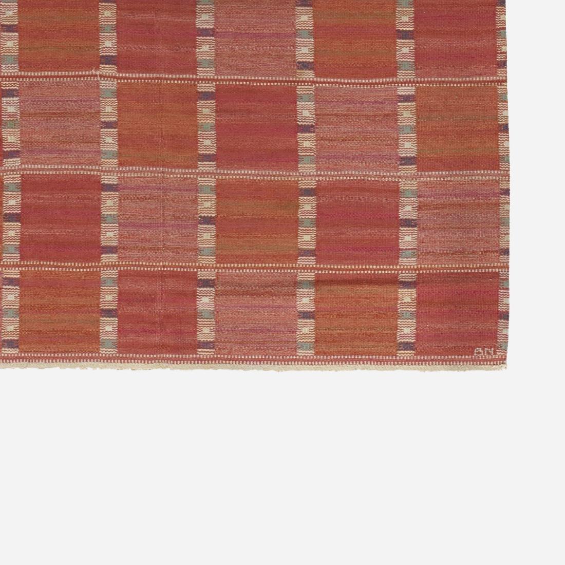 Barbro Nilsson, Falurutan flatweave carpet - 2