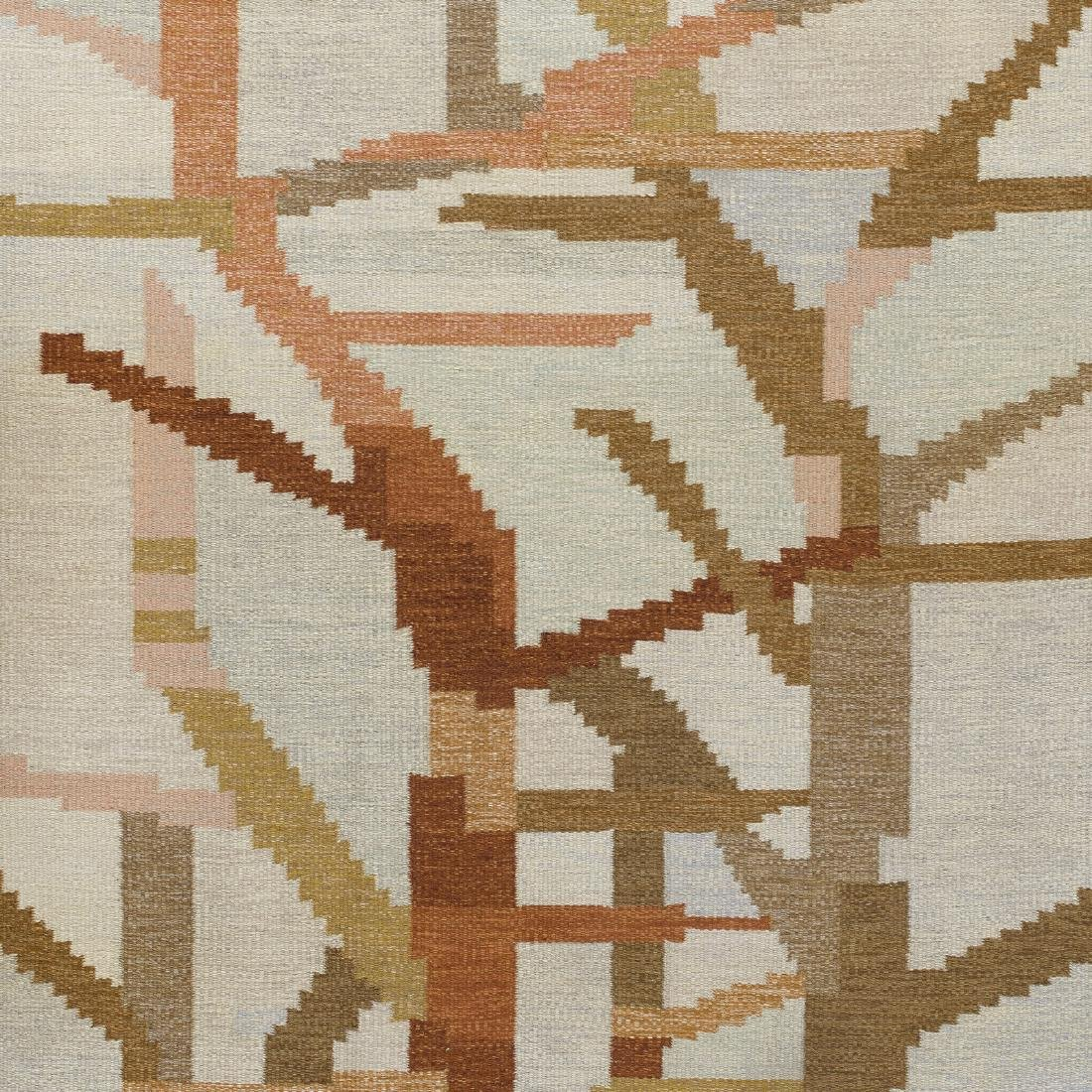 Swedish, flatweave carpet - 2