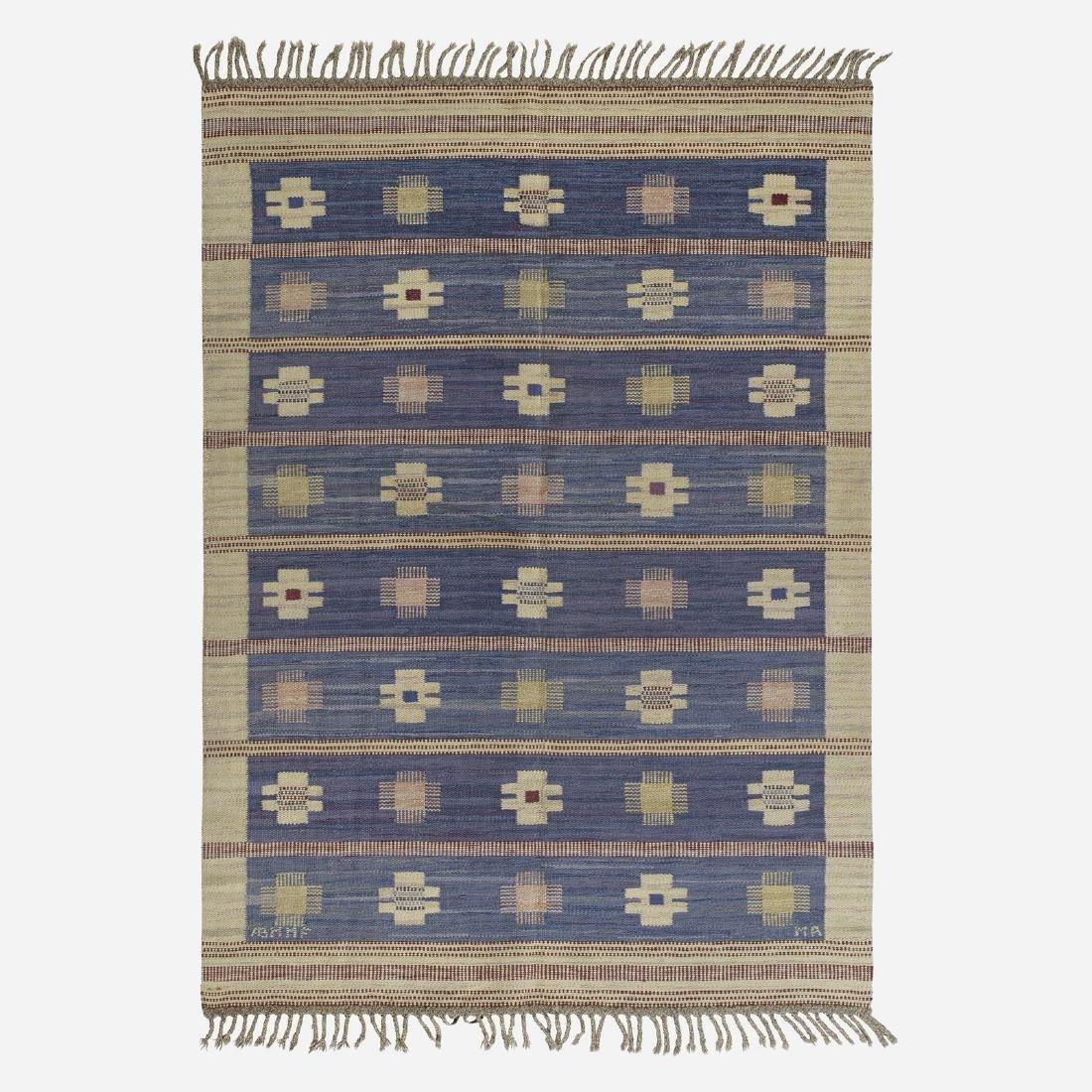 Marianne Richter, Blaklint flatweave carpet