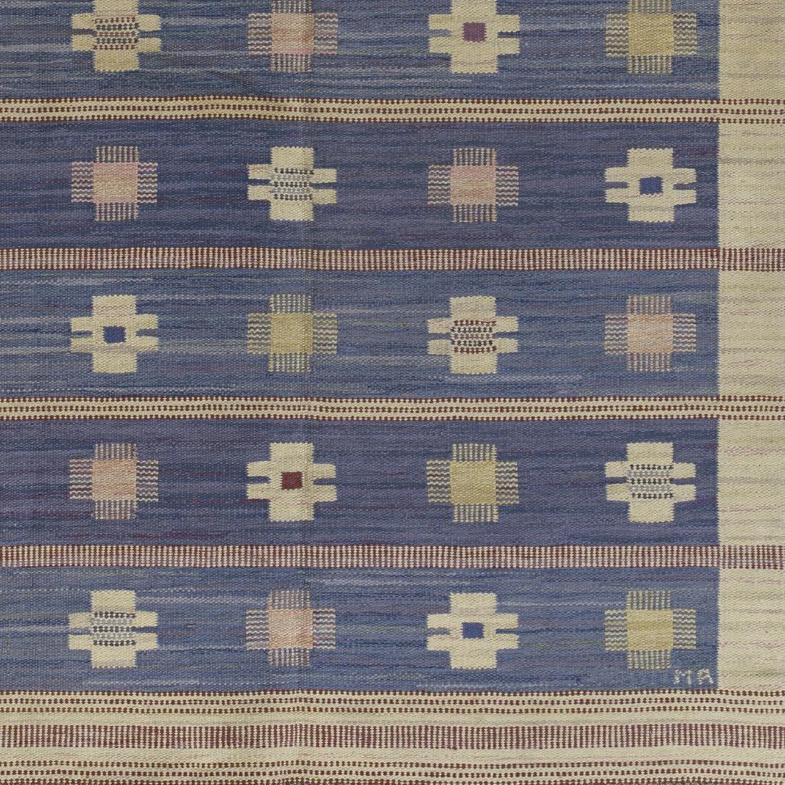 Marianne Richter, Blaklint flatweave carpet - 2