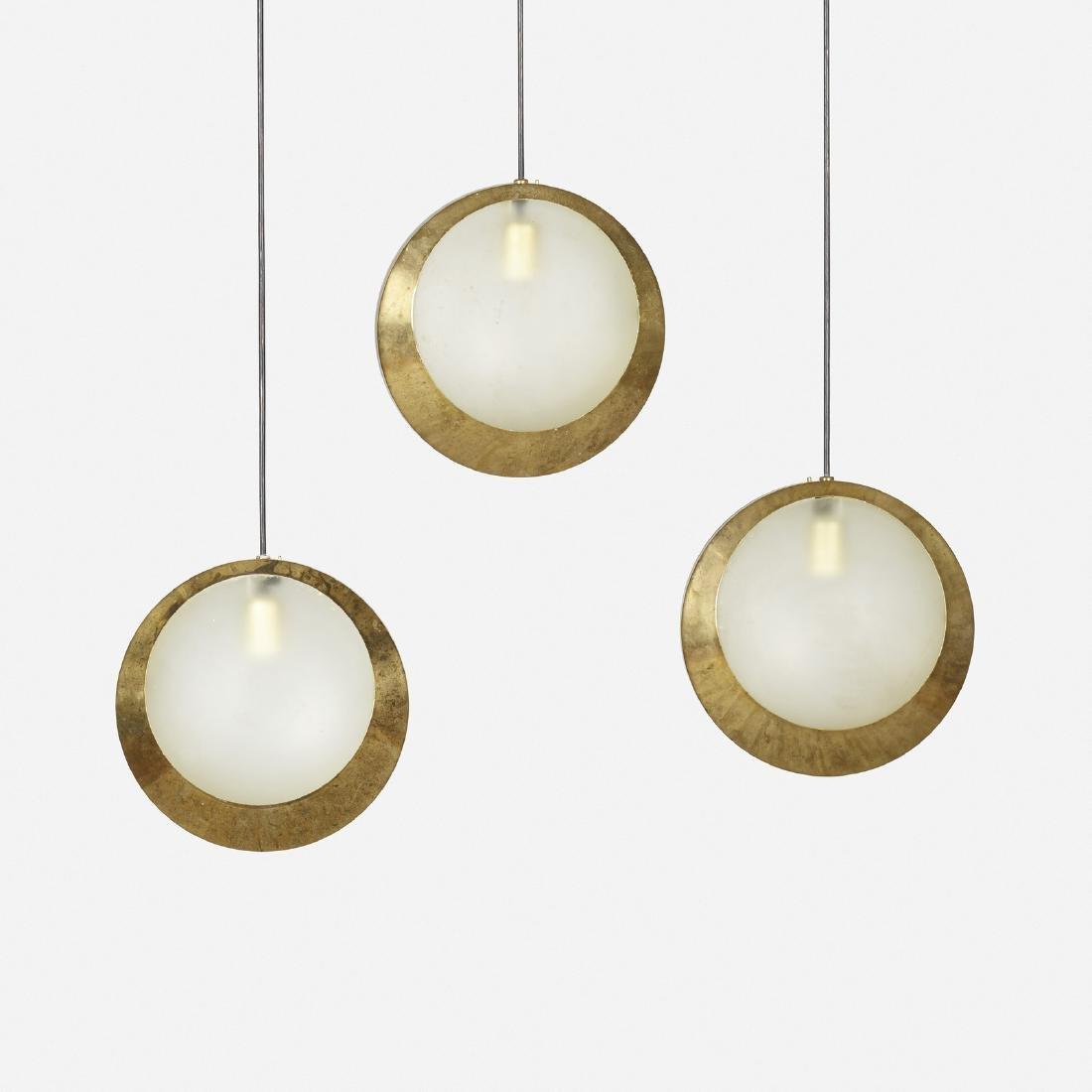 Stilnovo, pendant lights, set of three