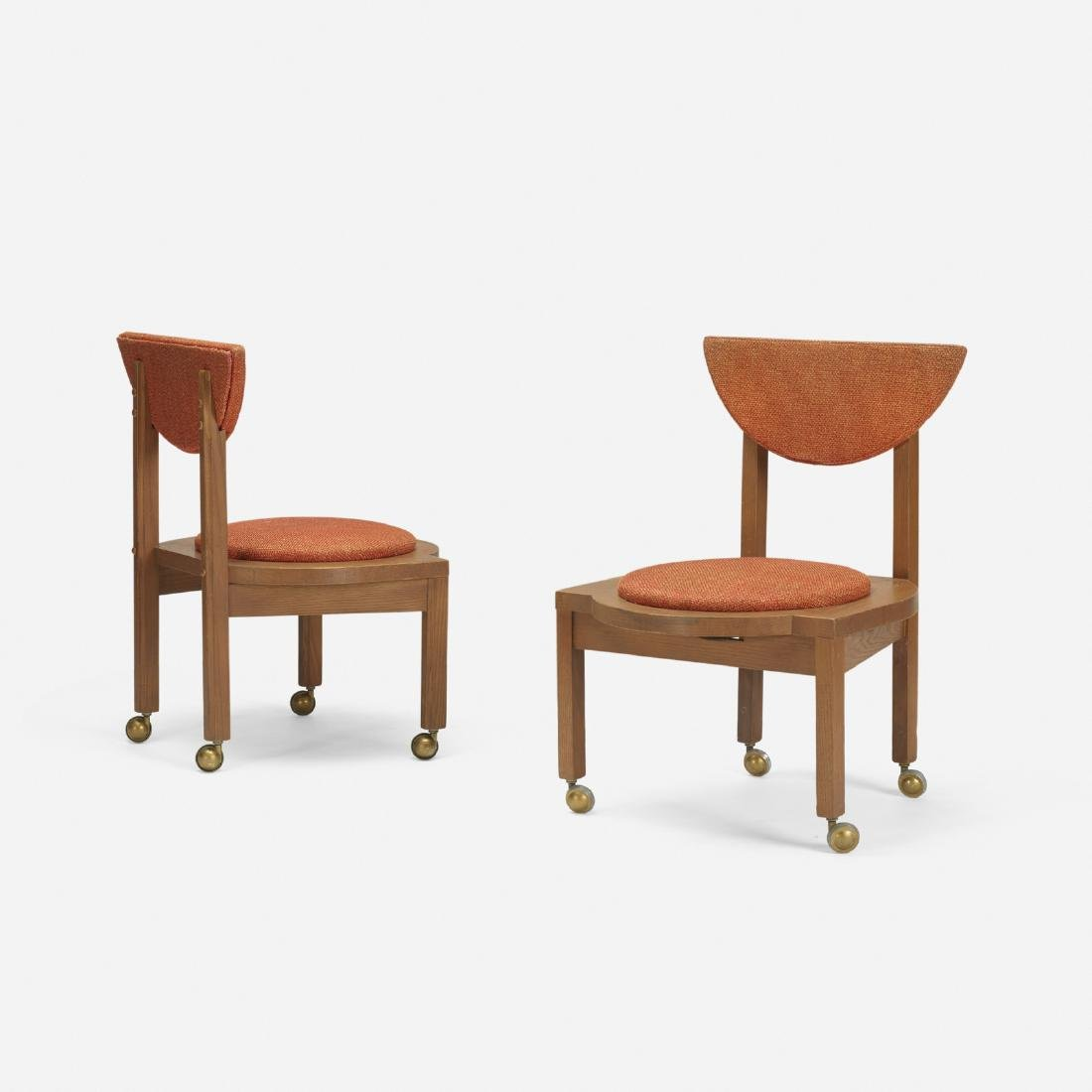 Frank Lloyd Wright, dining chairs, Riverview Terrace
