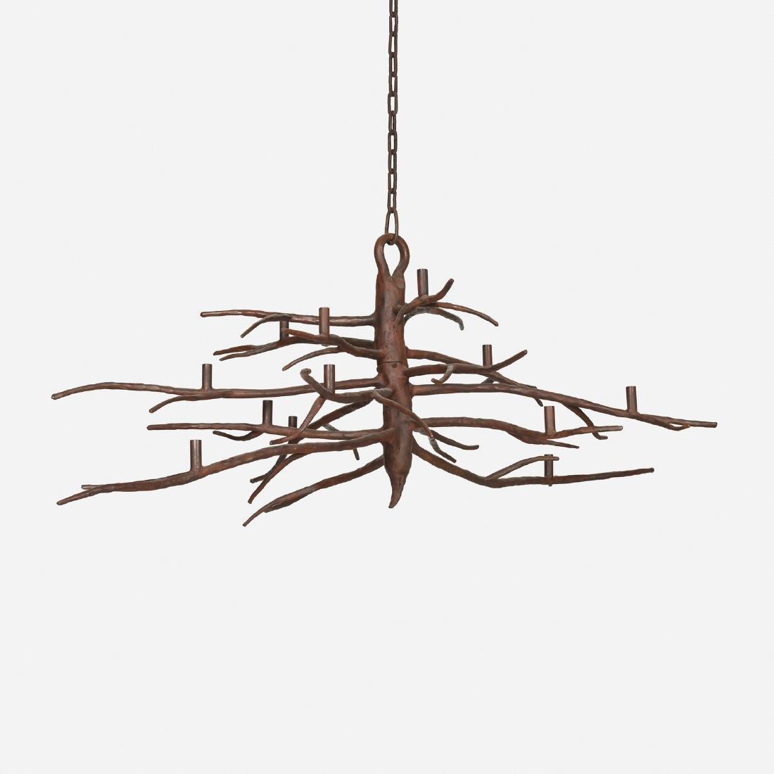 Michael Del Piero, Iron Branch chandelier