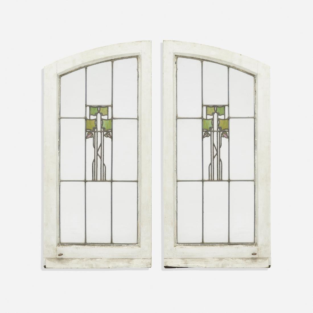 George Washington Maher, pair of windows