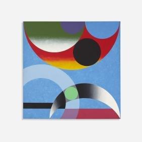 Herbert Bayer, Composition Around Green Dot