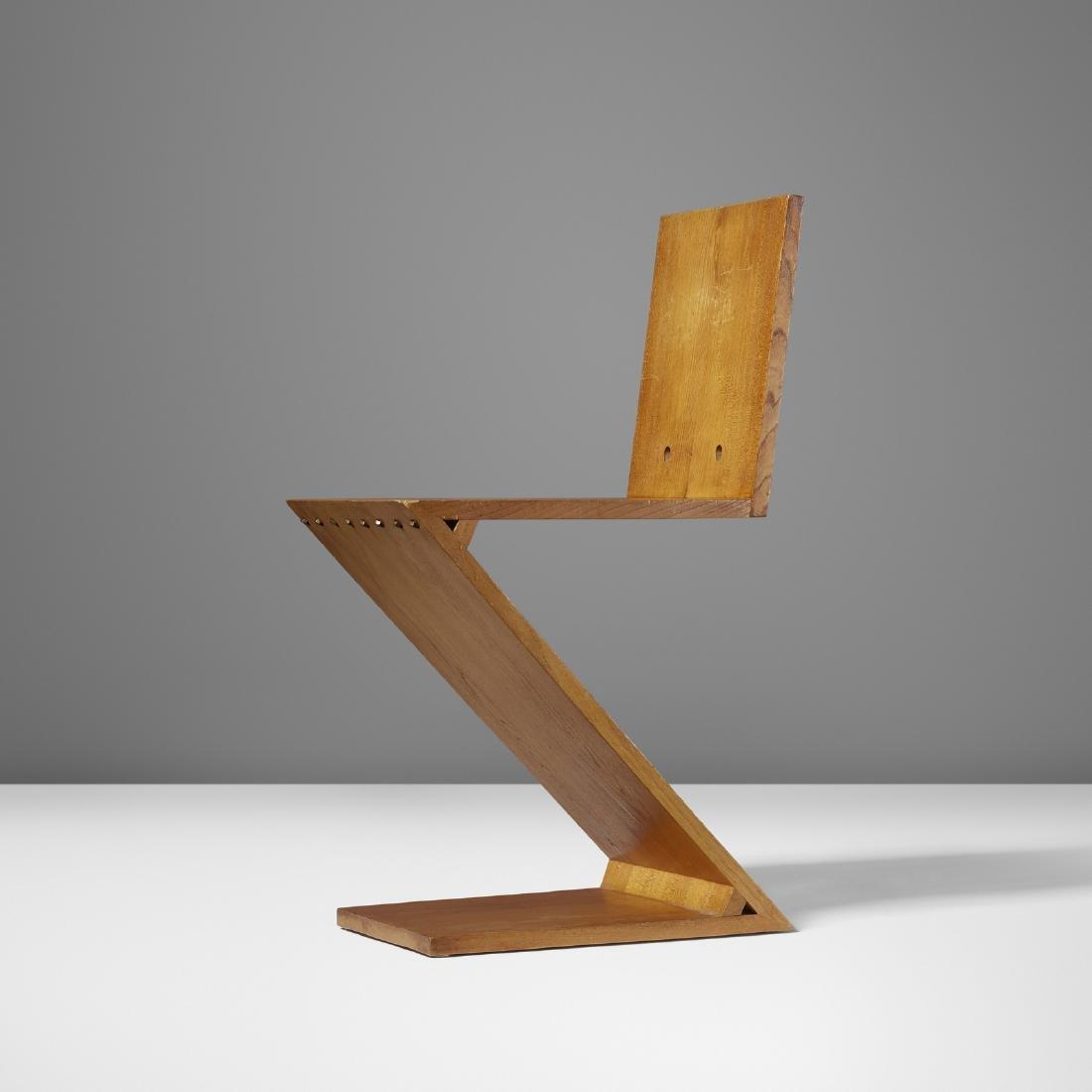Gerrit Rietveld, Zig Zag chair